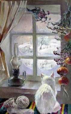 Vladimir Tokarev - The Winter Window