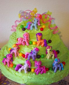 my little pony birthday cakes | My Little Pony — Childrens Birthday Cakes