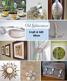 Silverware Craft and Gift Ideas