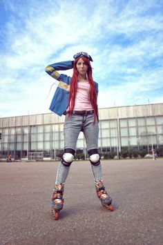 Air Gear - Ringo by ~NekosRocks on deviantART , [post_tags Air Gear, Fashion Poses, Costumes, Costume Ideas, Gears, Hipster, Punk, Deviantart, Sexy