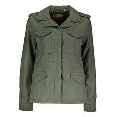 Levi's Surplus jacket militairy, Green, medium