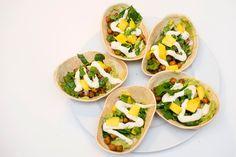 vegansk taco oppskrift