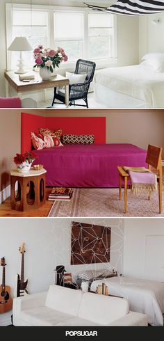 How to Style Your Bed in a Small Space