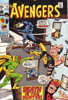 COMIC_avengers_118 #comic #cover #art