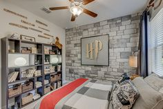 """Calling all wizards and muggles! SHARE if you would LIKE to have this #room in their home!   Our #HarryPotter themed room won """"Best Feature"""" in the Tampa Bay Parade of Homes. #ParadeTampaBay"""