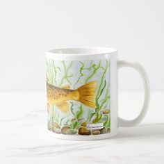 #fishing - #Trout fishing mug