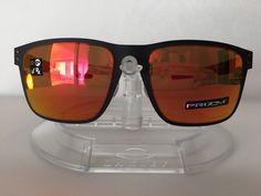 bdc5abd839e New OAKLEY Men s HOLBROOK METAL MATTE BLACK Sunglasses OO4123-1255 PRIZM  RUBY  fashion  clothing  shoes  accessories  mensaccessories ...