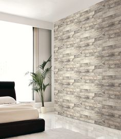 Natural Wood Wallpaper.  Naturalux Collection, Wallquest