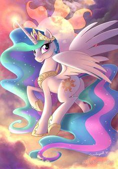 Diamond Painting My Little Pony Princess Celestia Kit Dessin My Little Pony, My Little Pony Poster, My Little Pony Drawing, My Little Pony Princess, Mlp My Little Pony, My Little Pony Friendship, Flame Princess, Twilight Princess, Princesa Celestia