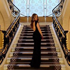 Fancy a dress like this? Maybe even a staircase like this.See bio