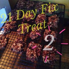 Oatmeal Cookies with  Chocolate Morsel and Toasted Pecans- 21 Day Fix