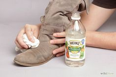 4 Ways to Clean Suede Shoes - wikiHow