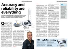 Accuracy and reliability are everything, Authored by Philip Friel, Your Implant Guide - Vol Jan 2015 Everything, Investing, Articles, Author