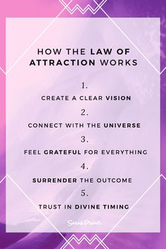 How The Law of Attraction Works More