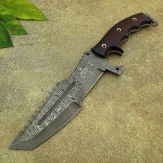 Van Dyke's TRACKER KNIFE Custom Handmade Damascus Knife Spec OPS Tactical Combat