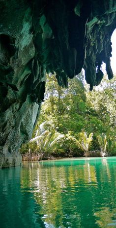 Under Ground River Puerto Princesa, St. Paul's Mediterranian National Park, Philippines.