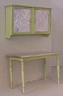 handmade kitchen furniture - may have pinned already?