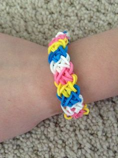 pulseras double x ligas on pinterest rainbow loom