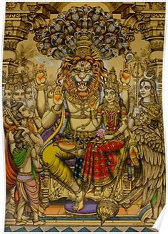 Lakshmi Narasimha Prahlad Poster