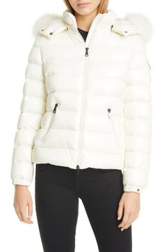 online shopping for Moncler Badyfur Quilted Down Puffer Jacket Removable Genuine Fox Fur Trim from top store. See new offer for Moncler Badyfur Quilted Down Puffer Jacket Removable Genuine Fox Fur Trim Moncler Jacket Women, Long Puffer Coat, Coats For Women, Clothes For Women, Spring Jackets, Winter Jackets, Double Breasted Coat, Tweed Jacket, Fox Fur