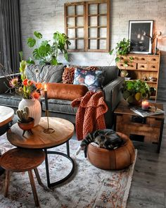 48 Unique Living Room Decor Ideas For Home Design is part of Home decor trends - Many Americans are downsizing their homes due to the bad economy This presents new design challenges to people who may […] Living Room Decor Colors, Room Colors, Interior Design Living Room, Living Room Designs, Room Interior, Bohemian Interior Design, Colourful Living Room, Colours, Paint Colors