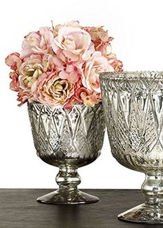 7in Patterned Silver Mercury Glass Coupe Vase Serene Spaces Living http://www.amazon.com/dp/B014EHB4PO/ref=cm_sw_r_pi_dp_loQYwb1SDP5NQ