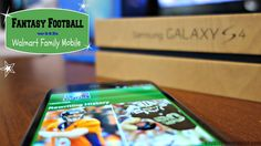 Fantasy Football with Walmart Family Mobile #shop #FamilyMobileSaves #cbias