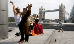 See a range of free shows at the Scoop, near Tower Bridge. Photograph: Alamy