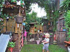 Functional and fun backyard for children.