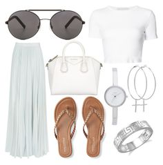 """""""10 ways to style sunglasses"""" by fashionandfriends on Polyvore featuring Seafolly, Reiss, Rosetta Getty, Aéropostale, Givenchy, DKNY, Kiki Minchin and BillyTheTree"""