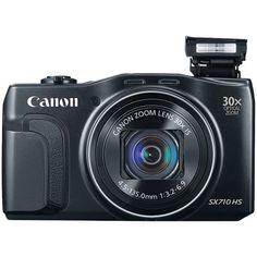 CANON 0109C001 Powershot(R) SX710 HS Digital Camera (Black)