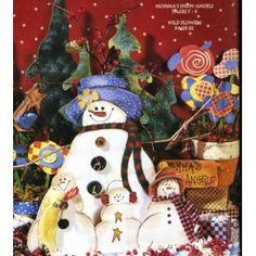 Christmas Decorative Painting Patterns Winter Snowmen Santa