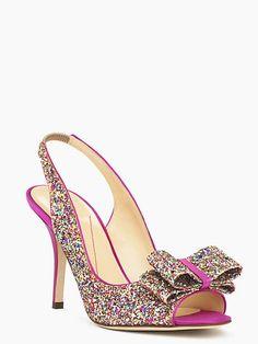 Beautiful Shoe! » Kate Spade Charm Heels in MultiColor » katespade.com