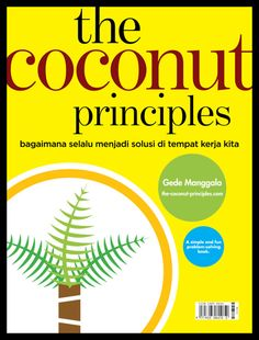 one of the alternate cover for the upcoming book the coconut principles