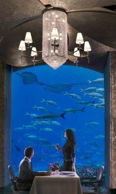Underwater Hotel,Ossiano at Atlantis, Dubai