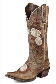 Pretty Wedding boots from Ariat