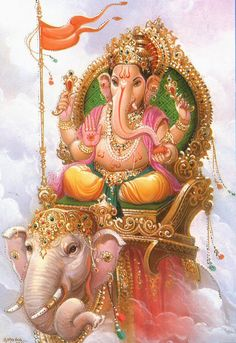Looking for Mantras of Lord Ganesha for removing Obstacles that are blocking your path of success? Given are Ganapati Siddhi Mantras, its Benefits, Meaning, Symbolism and more information on Vinayaka. Lord Ganesha, Jai Ganesh, Shree Ganesh, Lord Shiva, Ganesh Idol, Lord Krishna, Indian Gods, Indian Art, Om Gam Ganapataye Namaha