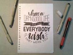 How to : Hand Lettering - AdiKun Creative