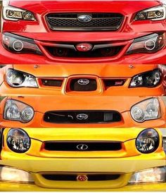 Subaru Impreza/WRX STi eyes