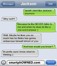 Page 6 - Autocorrect Fails and Funny Text Messages - SmartphOWNED - Funny Troll & Memes 2019 Funny Texts Jokes, Text Jokes, Funny Texts Crush, Funny Text Fails, Cute Texts, Funny Quotes, Funny Memes, Epic Texts, Stupid Texts