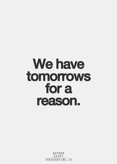 Tomorrow.