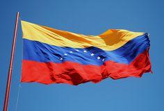 Venezuela flag Venezuela Flag, Spanish Flags, Seattle, Beyond The Horizon, Thinking Day, Tourist Places, Flags Of The World, Country, Outdoor Decor