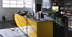 Artematica Aluminium and Glass Kitchen Doors - Valcucine - Rogerseller