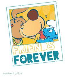 Blue Magic, Gummy Bears, Friends Forever, Pikachu, Disney, Fictional Characters, Art, The Smurfs, Art Background