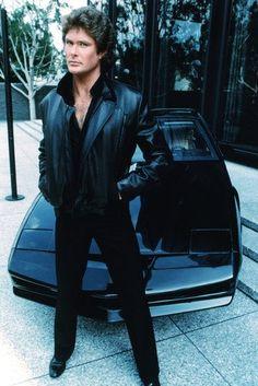 David Hasselhoff Knight Rider Color 24X36 Poster 80 Tv Shows, Sci Fi Tv Shows, Pontiac Firebird, Classic Series, Classic Tv, Kitt Knight Rider, Nostalgia 70s, The Expendables, Baywatch