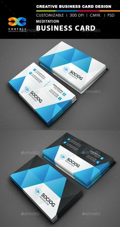 Meditation Business Card Template PSD | Buy and Download: http://graphicriver.net/item/meditation-business-card/8945287?WT.ac=category_thumb&WT.z_author=-axnorpix&ref=ksioks