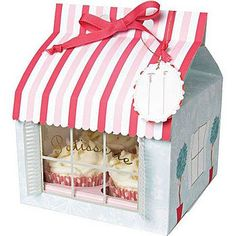 Cute Patisserie Cupcake Boxes
