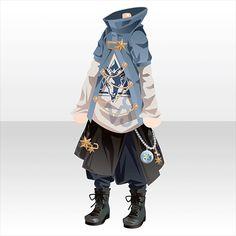 上半身/インナー キャプリコーンボーイスタイルBブルー Anime Outfits, Cool Outfits, Fashion Outfits, Fashion Design Drawings, Fashion Sketches, Dibujos Cute, Drawing Clothes, Character Outfits, Character Design Inspiration