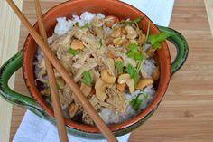 Crock Pot Cashew Chicken.. so easy. so delicious.