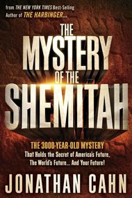 mystery-of-the-shemitah by Jonathan Cahn Cahn explains that empires see fortunes rise and fall in accordance with Shemitah Shemitah most often translated as 'the release' or 'the remission' and applied to wiping away of debts as well as Resting of the land.